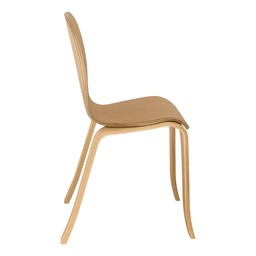 Stackable Bentwood Kid's Chair - Side View