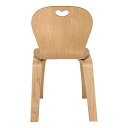 "Stackable Bentwood Kid's Chair - 12"" Seat Height"