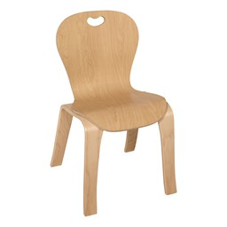 "Stackable Bentwood Kid's Chair - 14"" Seat Height"
