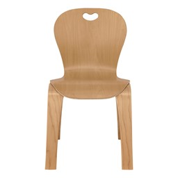 """Stackable Bentwood Kid's Chair (14"""" Seat Height)"""