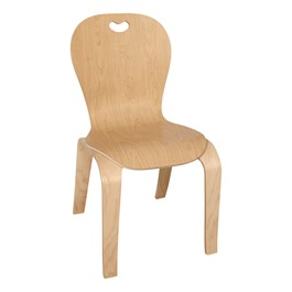 """Stackable Bentwood Kid\'s Chair (16\"""" Seat Height)"""