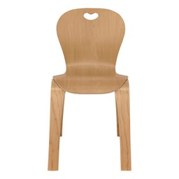"""Stackable Bentwood Kid's Chair (16"""" Seat Height)"""