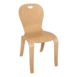 "Stackable Bentwood Kid's Chair (18"" Seat Height)"