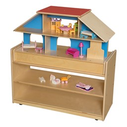 Mobile Base Cabinet w/ Play House Topper - Assembled