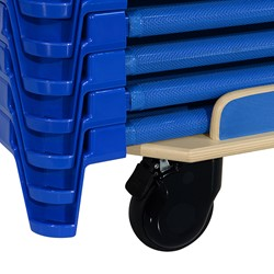 Standard Cot Dolly - Shown w/ stacked cots