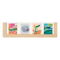 """See-Through Wall Frame (54"""" W x 15"""" H)"""