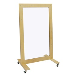 See-Through Room Divider w/ Casters