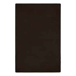 Heavy-Duty Solid Color Classroom Rug - Rectangle (12' W x 15' L) - Chocolate