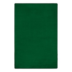 Heavy-Duty Solid Color Classroom Rug - Rectangle (12' W x 18' L) - Clover