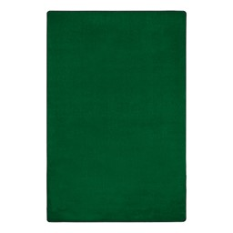 """Heavy-Duty Solid Color Classroom Rug - Rectangle (7' 6"""" W x 12' L) - Clover"""