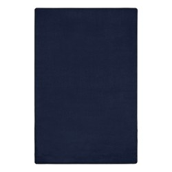 Heavy-Duty Solid Color Classroom Rug - Rectangle (12' W x 15' L) - Navy