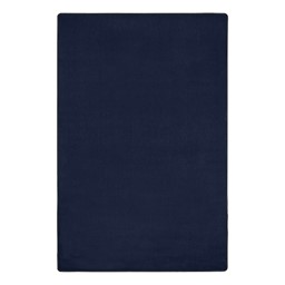 """Heavy-Duty Solid Color Classroom Rug - Rectangle (7' 6"""" W x 12' L) - Navy"""