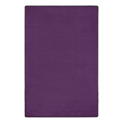 Heavy-Duty Solid Color Classroom Rug - Rectangle (12' W x 18' L) - Pretty Purple