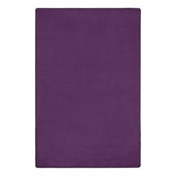 "Heavy-Duty Solid Color Classroom Rug - Rectangle (7' 6"" W x 12' L) - Pretty Purple"