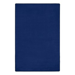 Heavy-Duty Solid Color Classroom Rug - Rectangle (12' W x 18' L) - Royal Blue