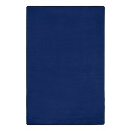 """Heavy-Duty Solid Color Classroom Rug - Rectangle (7' 6"""" W x 12' L) - Royal Blue"""