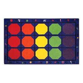 "Alphabet Seating Rug™ - Rectangle (5\' 10\"" W x 8\' 4\"" L)"