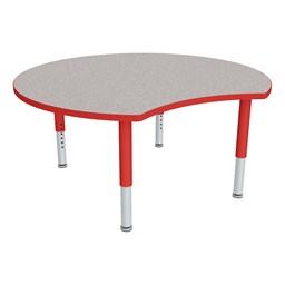 Preschool Cog Mobile Collaborative Table - Shown w/ Glides