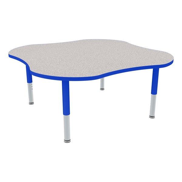 Clover Adjustable-Height Mobile Preschool Activity Table-Chown ta Glide