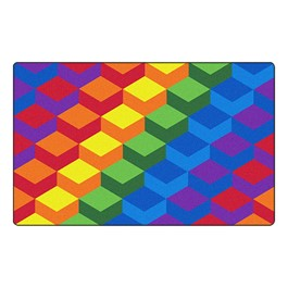 Colorful Stair Steps Rug™