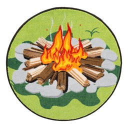 Campfire Storytime Rug Set