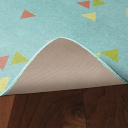 Multicolor Confetti Rug - Skid-Resistant Backing