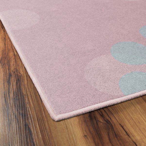 Colorful Flower Child Rug