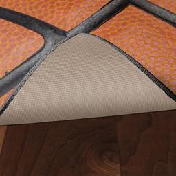 The Basketball Rug - Skid-Resistant Backing