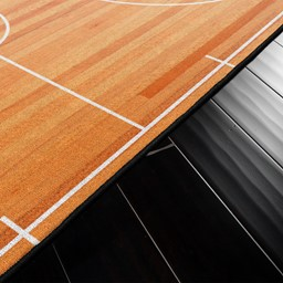 Basketball Court Rug