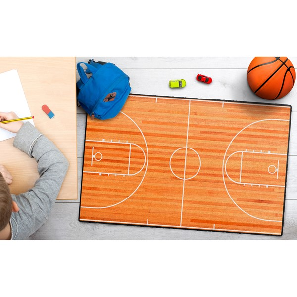 Basketball Court Rug