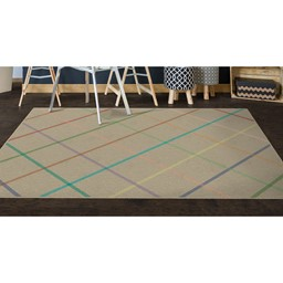 Colorful Lines Rug