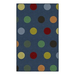 Multicolor Large Dots Rug