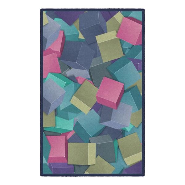 Colorful Building Blocks Rug