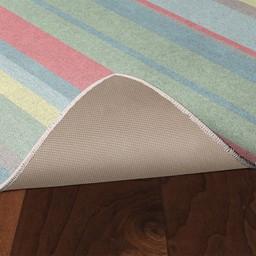 Sherbet Stripes Rug - Skid-Resistant Backing