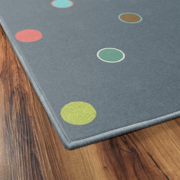 Multicolor Polka Dots Rug