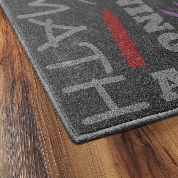 Classroom Chalkboard Rug