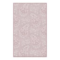 Paisley Rug - Pink