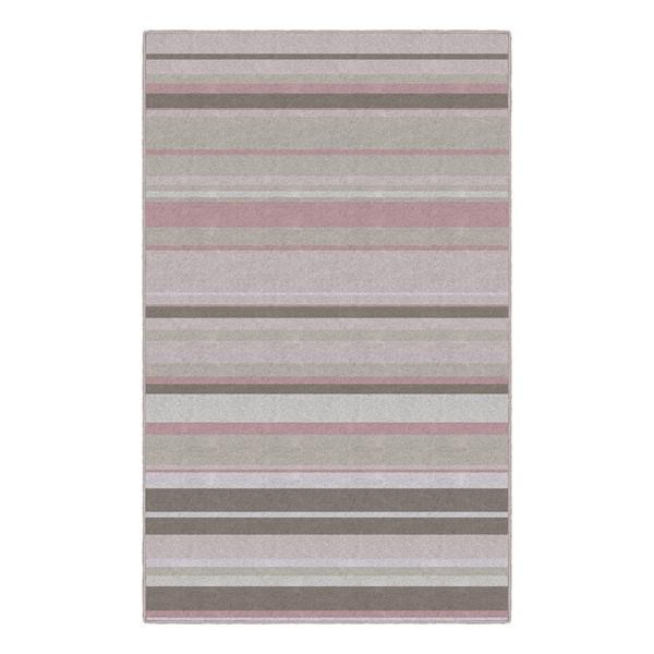 Pastel Stripes Rug - Pink