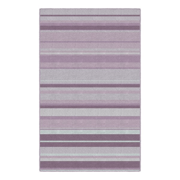 Pastel Stripes Rug - Purple