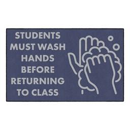 Students Hand Wash Washable Rug - Rectangle