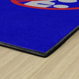 Help Prevent The Spread Washable Rug - Corner