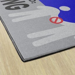Help Prevent The Spread Washable Rug