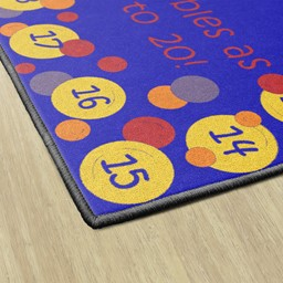 Pop The Bubbles Washable Rug - Rectangle