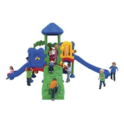 Discovery Center Play Set w/ 12 Activities - Primary Colors