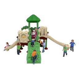 Discovery Center Play Set w/ 12 Activities - Natural Colors