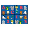 ABC 123 Animal Fun Rug