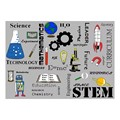 STEM Subjects Classroom Rug