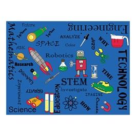 "STEM Concepts Classroom Rug (10\' 6\"" W x 13\' 2\"" L)"