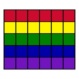 "Classroom Squares Seating Rug - Bright (10\' 9\"" W x 13\' 2\"" L)"