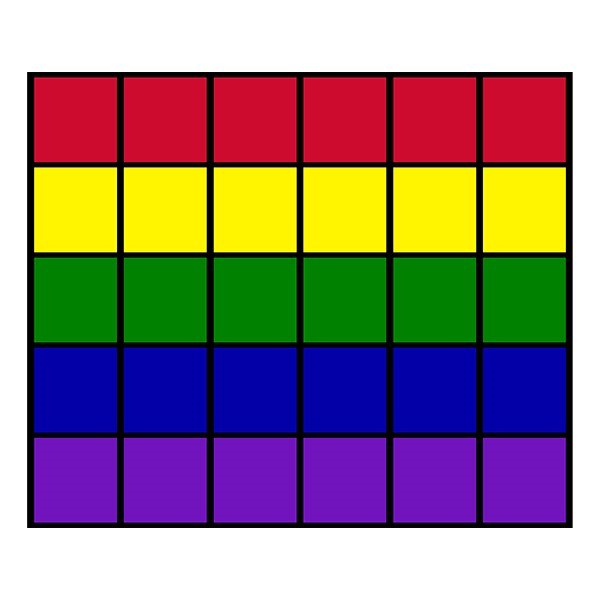 "Classroom Squares Seating Rug - Bright (10' 9"" W x 13' 2"" L)"